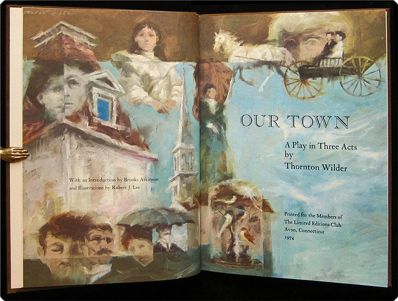 an analysis of the our town by thornton wilfer